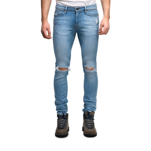 L'Homme Skinny Dylan Distressed Jeans