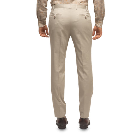 Tan Pleated Trousers