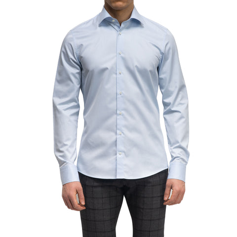 Blue Slimline Dress Shirt