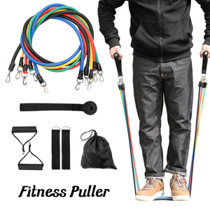 11 Pcs Yoga Resistance Bands Set