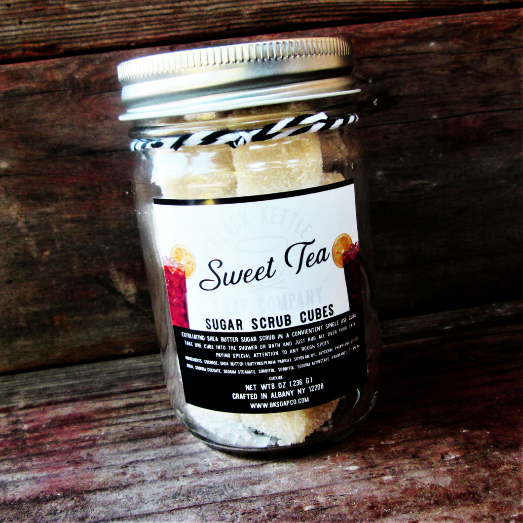 SWEET TEA Sugar Scrub Cubes