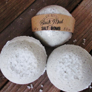 BLACK MUD Salt Bomb