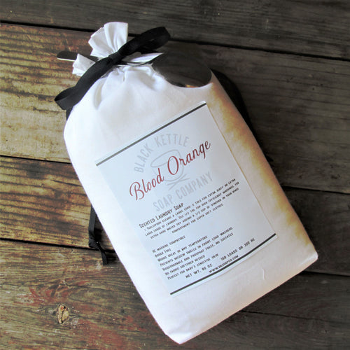 BLOOD ORANGE- 5 pound Cloth Bag