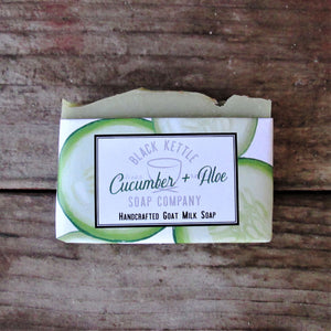 CUCUMBER ALOE Goat Milk Soap