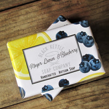 Load image into Gallery viewer, MEYER LEMON + BLUEBERRY Soap