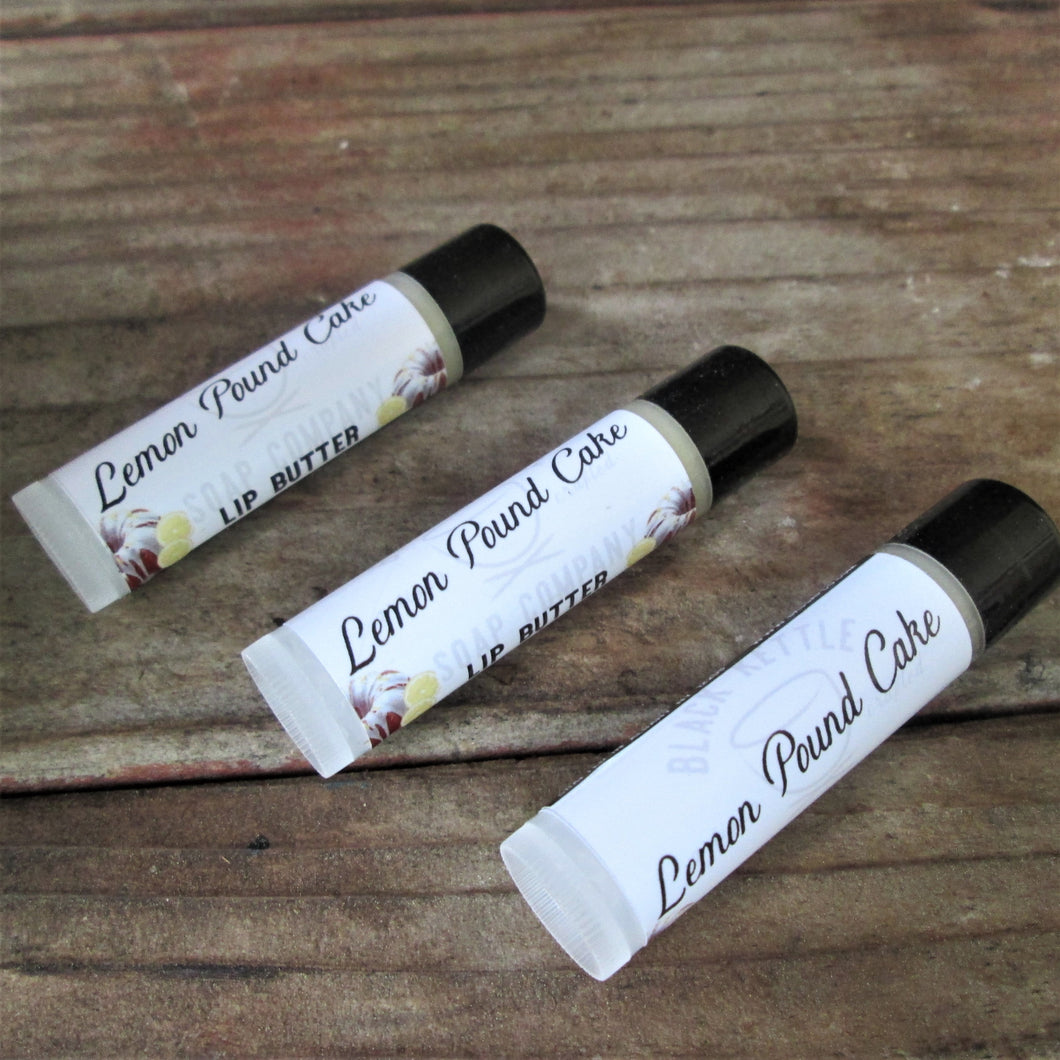 LEMON POUND CAKE Lip Butter