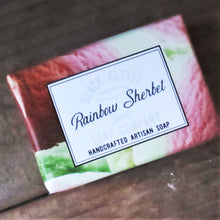 Load image into Gallery viewer, RAINBOW SHERBET Soap