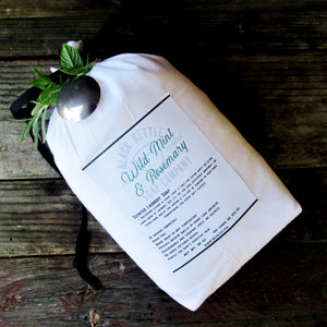 WILD MINT + ROSEMARY- 5 pound Cloth Bag