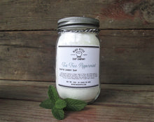 Load image into Gallery viewer, TEA TREE PEPPERMINT Mason Jar Laundry Soap