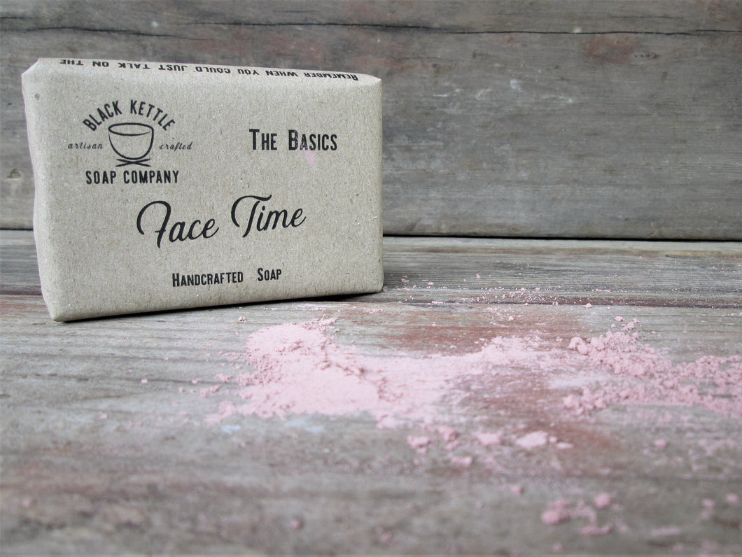 FACE TIME Rose Clay Soap