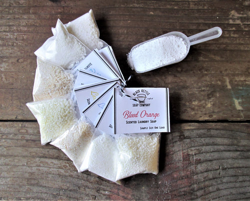 ESSENTIALS Laundry Soap Samples... Black Kettle