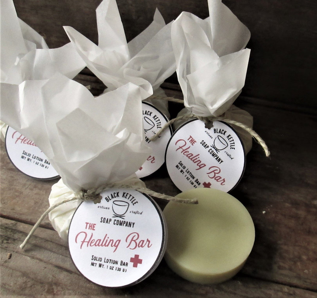 THE HEALING BAR Natural Lotion Bar
