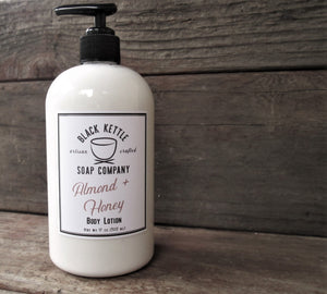 ALMOND + HONEY Moisturizing Body Lotion NEW Larger Size