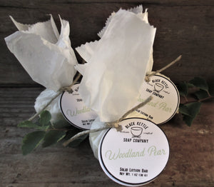 WOODLAND PEAR Natural Lotion Bar