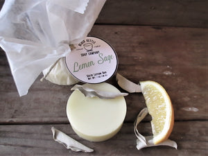 LEMON + SAGE Natural Lotion Bar
