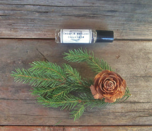 CEDAR & Mexican Chocolate Roll on Perfume