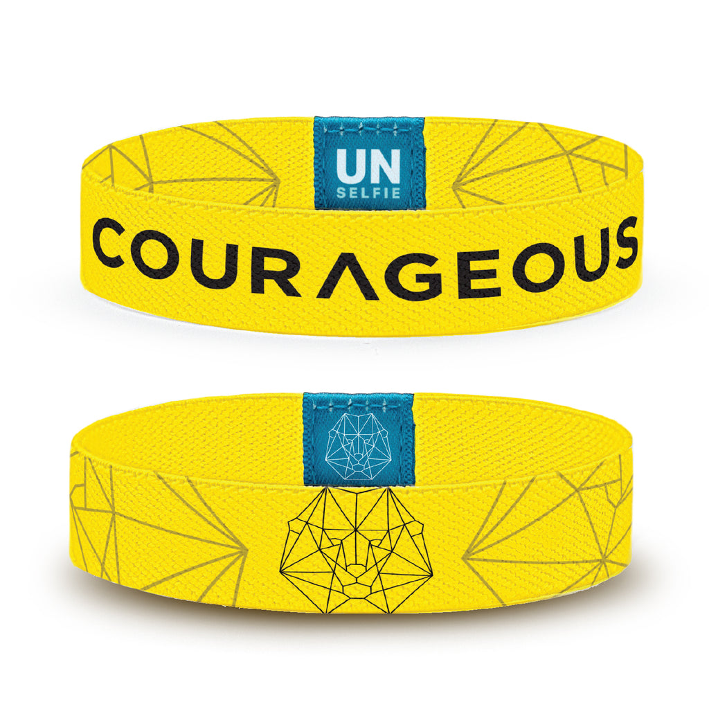 Courage Unselfie Band (Pack of 25)