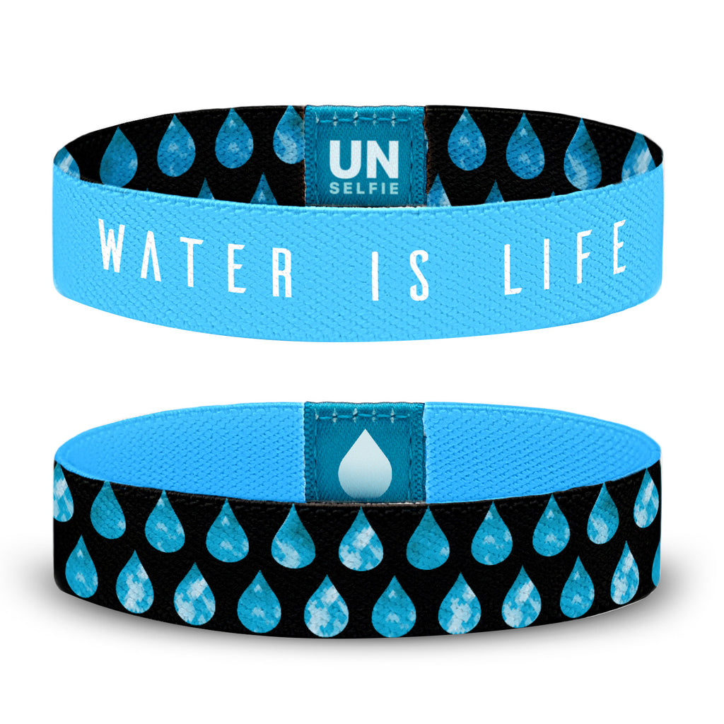 Water is Life, Drops Unselfie Band