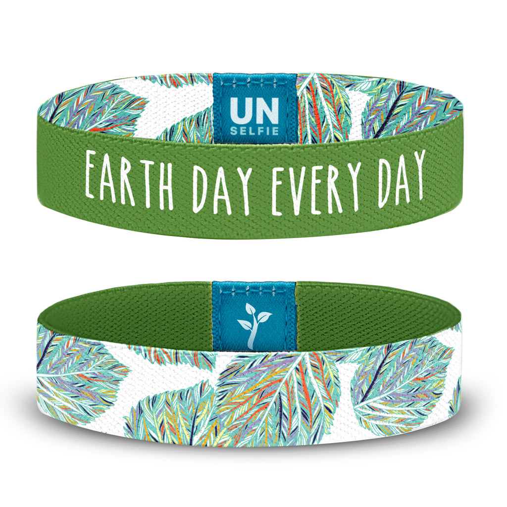 Earth Day, Foliage Unselfie Band
