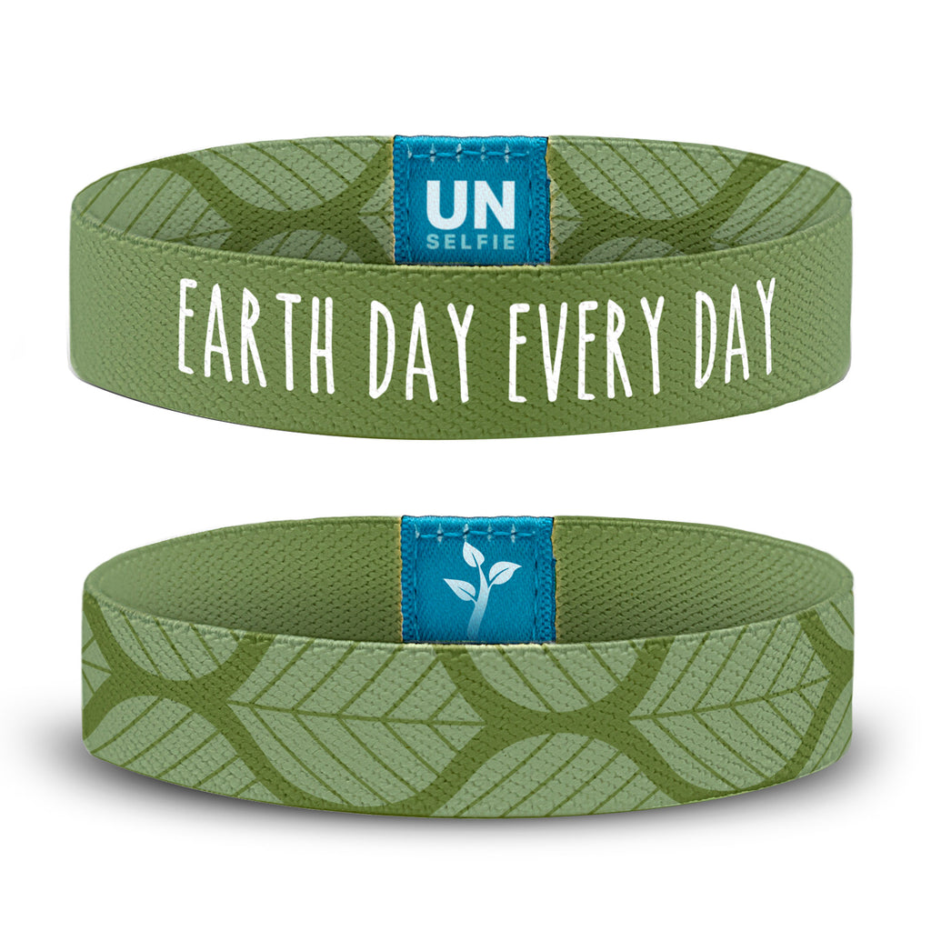 Earth Day, Olive Leaf Unselfie Band