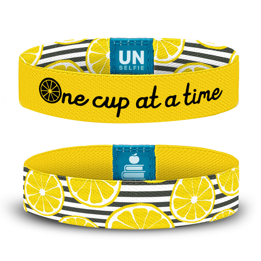 One Cup, Stripes & Slices Unselfie Band