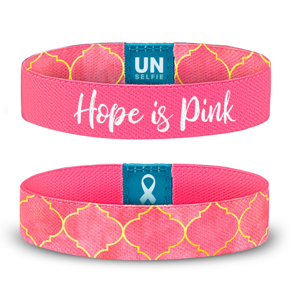 Hope is Pink, Regal Pattern Unselfie Band