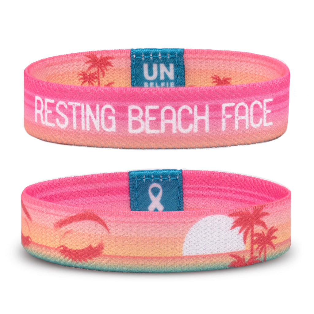Resting Beach Face Unselfie Band