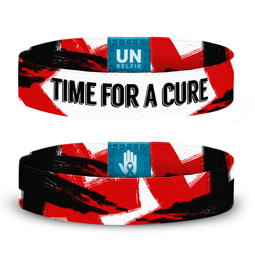 Time For A Cure Unselfie Band