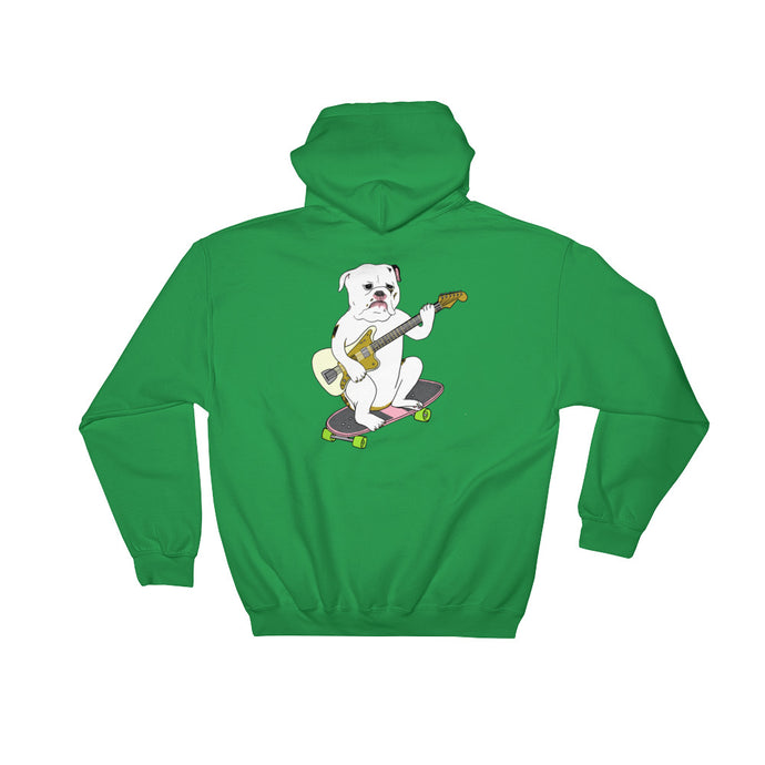 Guitar Skater Dawg Hooded Sweatshirt