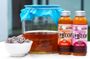 Singapore kombucha with sour plum