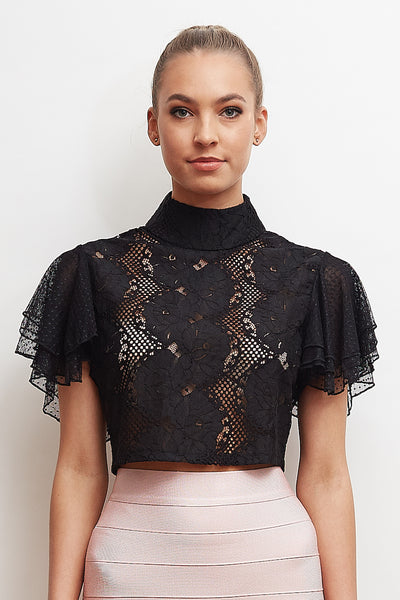 Truffle Lace Top