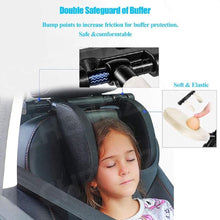 Load image into Gallery viewer, Comfortable Car Travel Pillow - Side Headrest Cushion