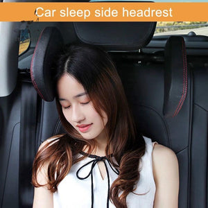 Comfortable Car Travel Pillow - Side Headrest Cushion