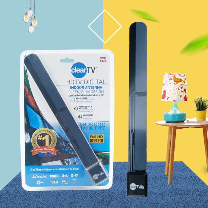 BUY 1 GET 1 FREE! Digital ClearTV Antenna!
