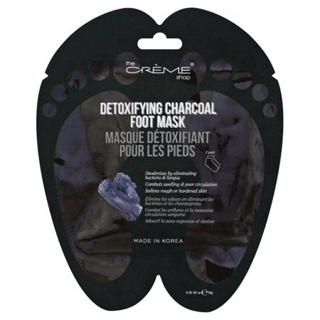The Creme Shop Detoxifying Charcoal Foot Mask