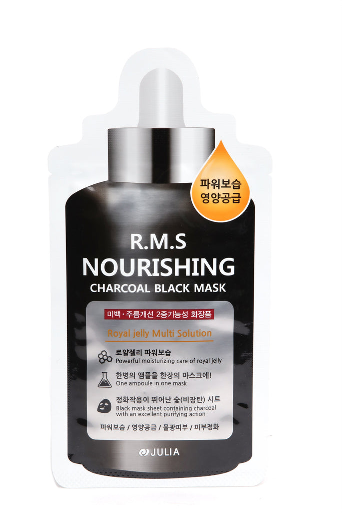 R.M.S Nourishing Charcoal Black Mask