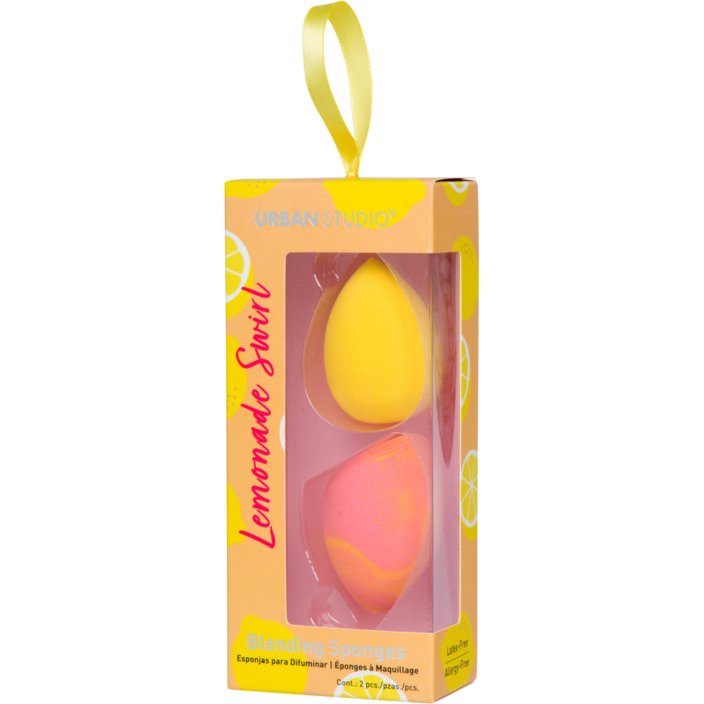CALA LEMONADE SWIRL BLENDING SPONGES (2 PCS ) BLENDING SPONGES