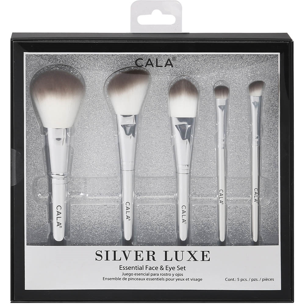 CALA SILVER LUXE BRUSH SET