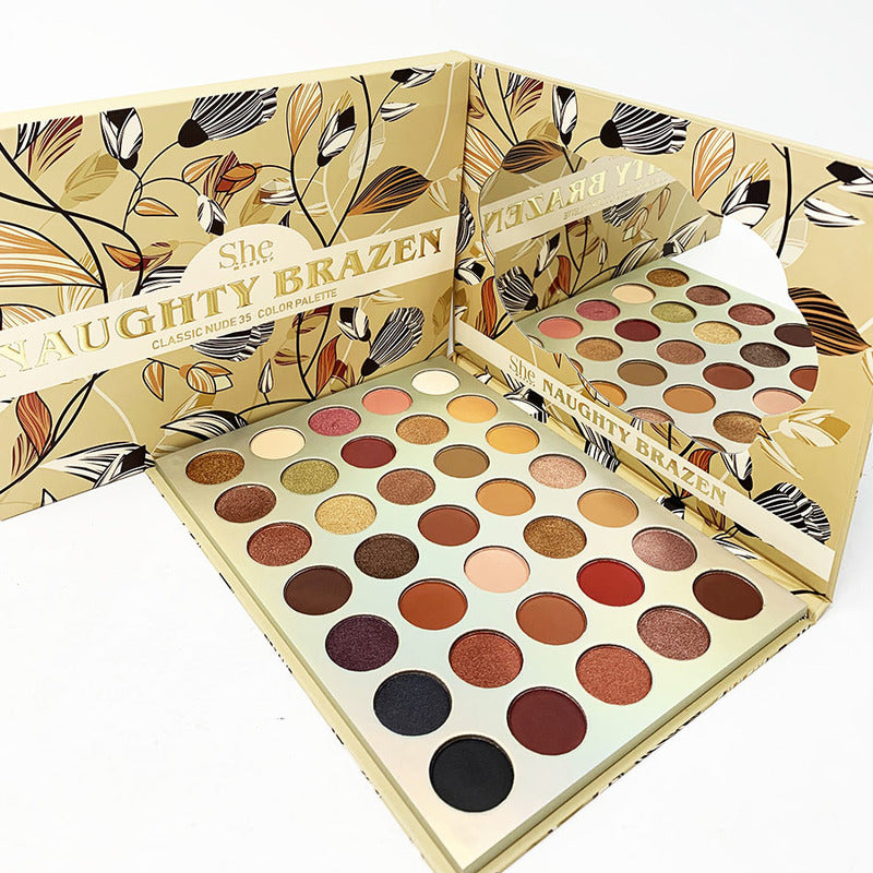 S.HE MAKEUP Naughty Brazen 35 Color Palette