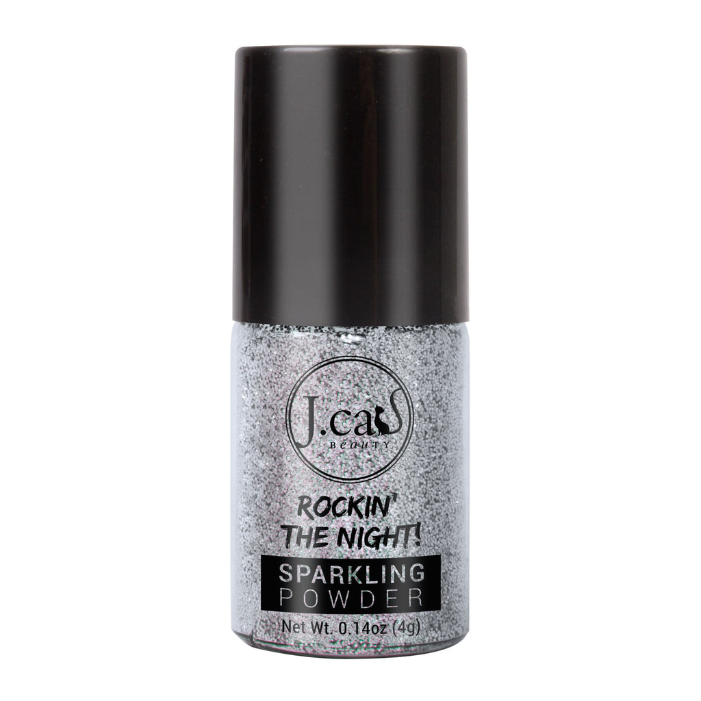 J.CAT BEAUTY ROCKIN' THE NIGHT GLITTER   COOL SILVER