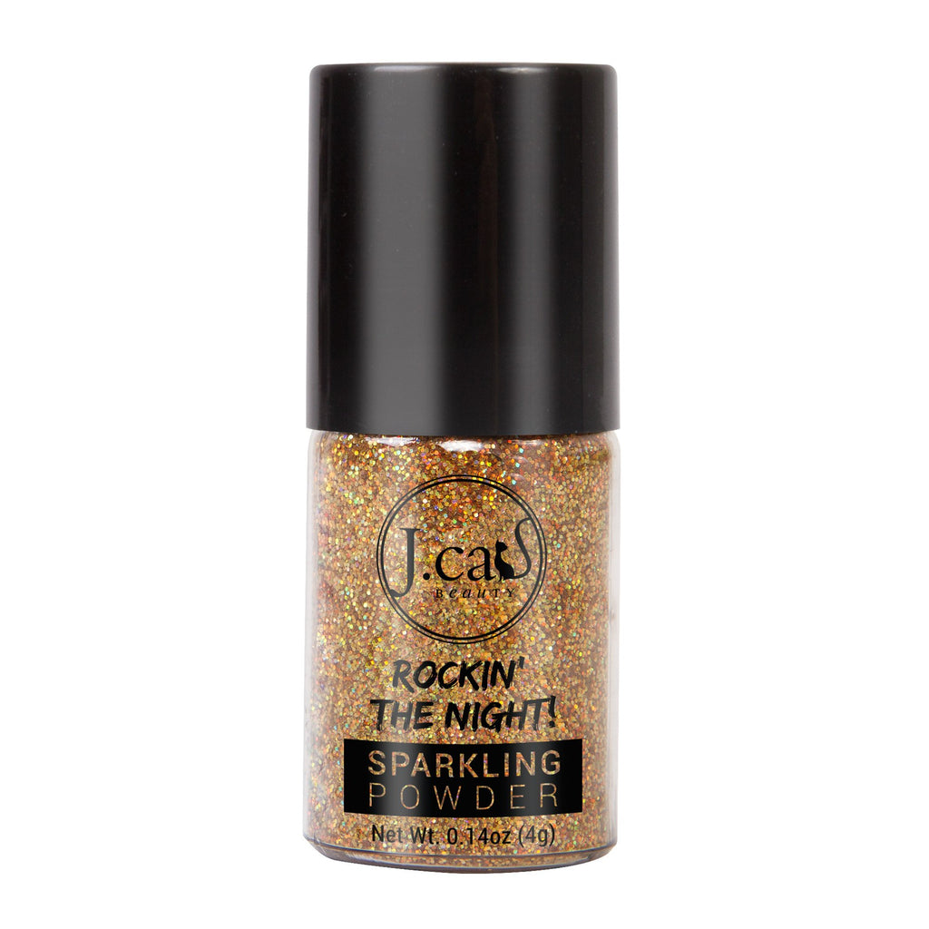 J.CAT BEAUTY ROCKIN' THE NIGHT GLITTER   GOLD ROAD
