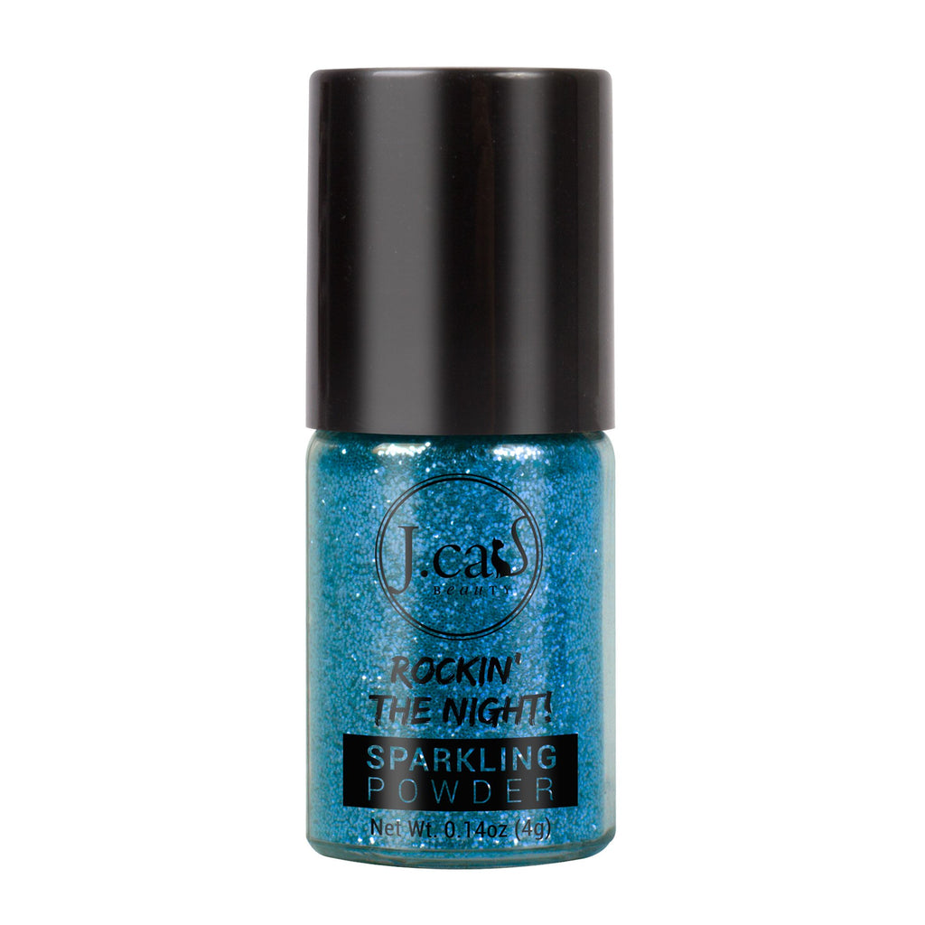 J.CAT BEAUTY ROCKIN' THE NIGHT GLITTER   JUNGLE SAPPHIRE