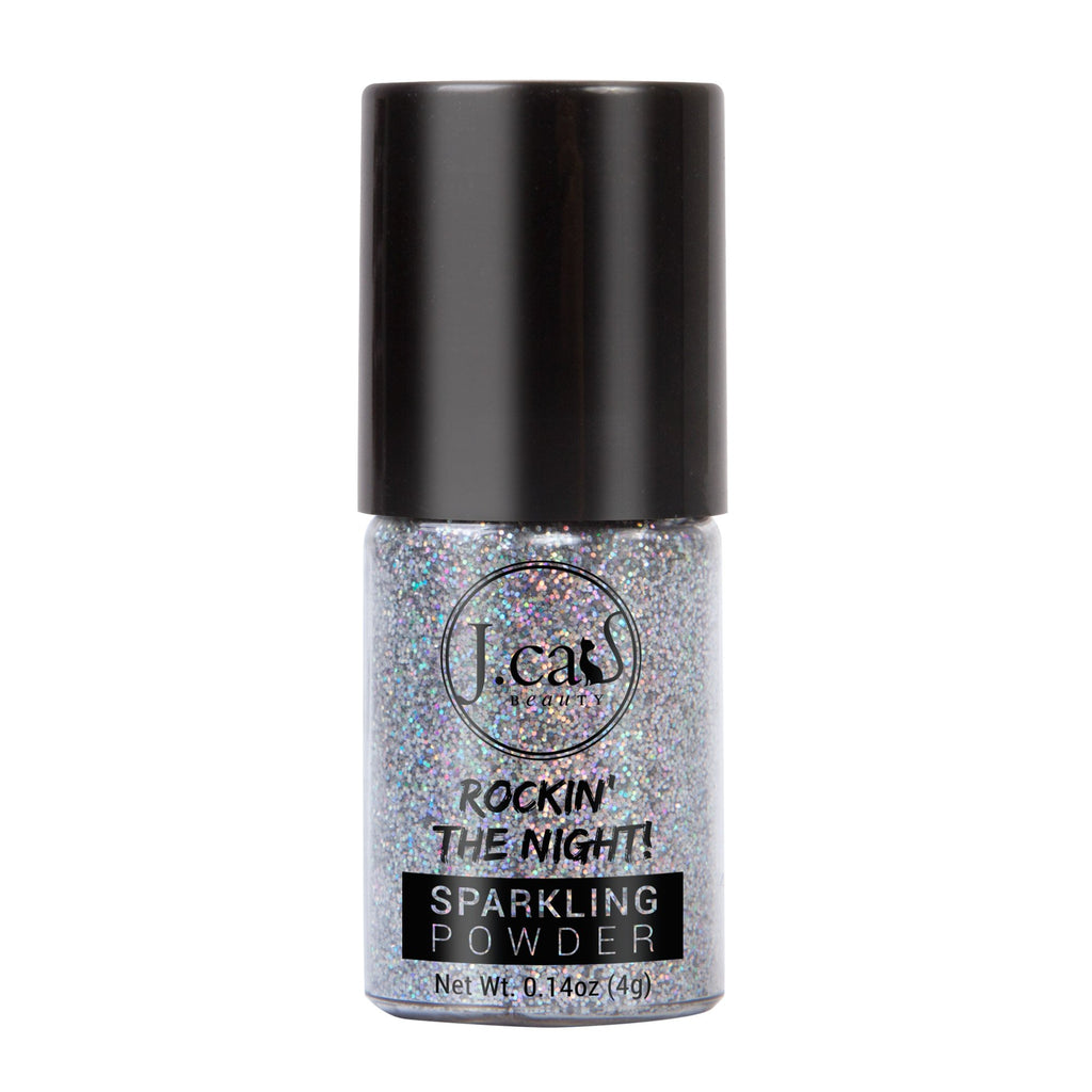 J.CAT BEAUTY ROCKIN' THE NIGHT GLITTER   LION SILVER