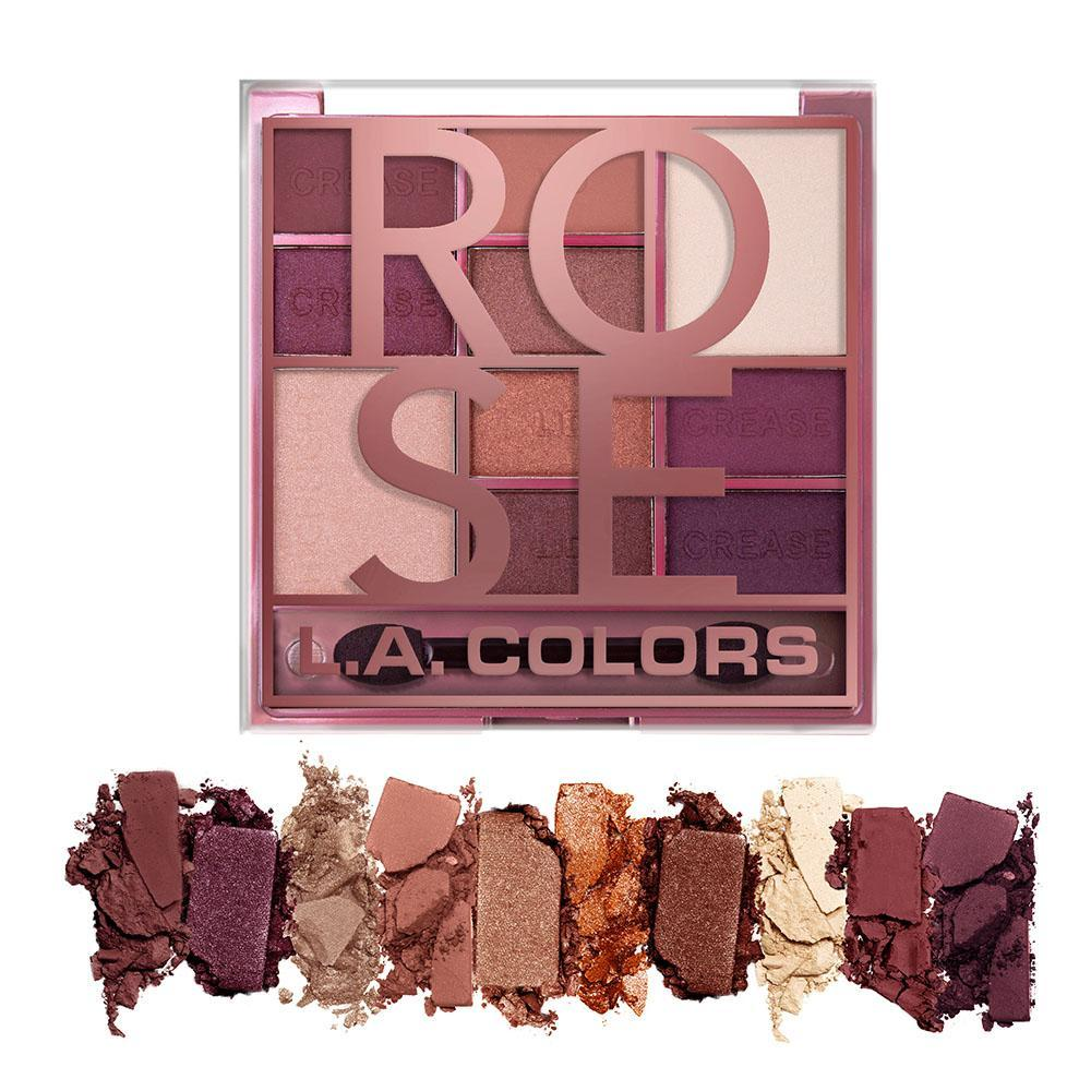 L.A. COLOR BLOCK EYESHADOW ROSE