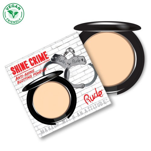 Shine Crime Anti-Shine Blotting Powder - Banana