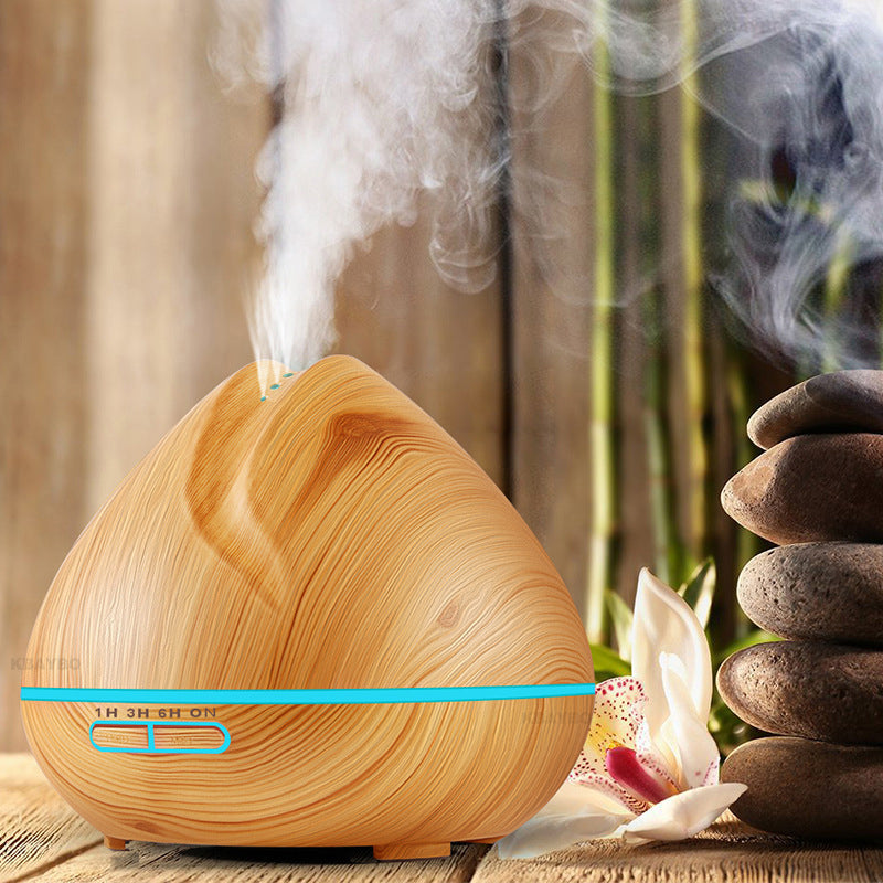 400ML Wood Grain Essential Oil Diffuser