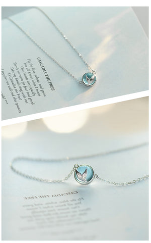 Mermaid Crystal Necklace