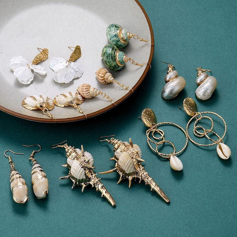 Seashell Earrings