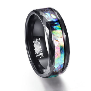 Ocean Rainbow Zircon Ring