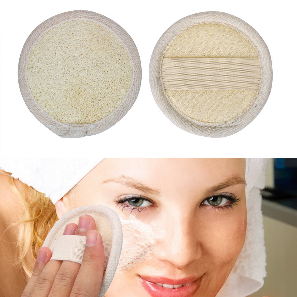 Natural Loofah Face Cleansing Brush
